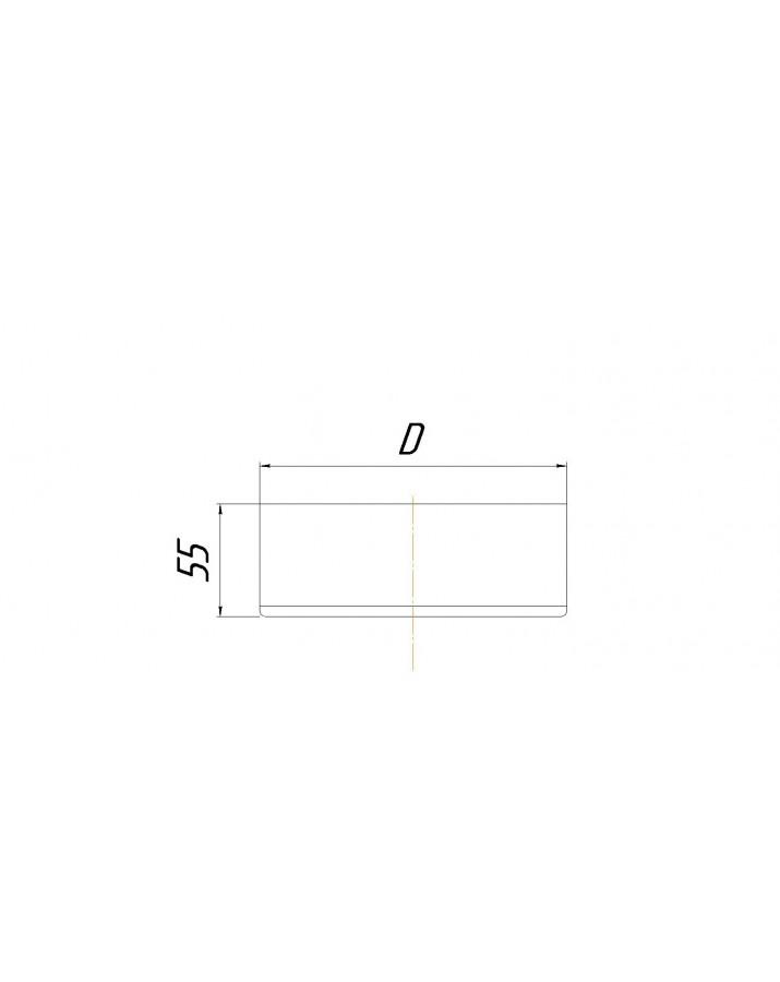 Double wall deka - diameter Ø100/160